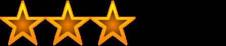 3 Sterne