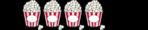 4 Popcorntüten