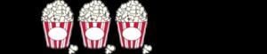 3 Popcorntüten